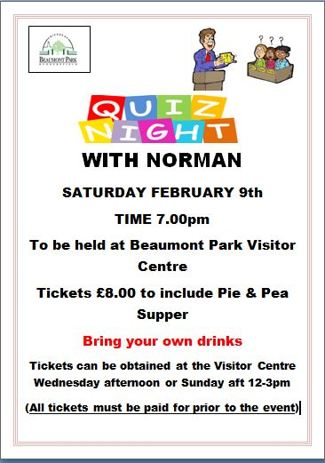 QUIZ NIGHT WITH NORMAN
