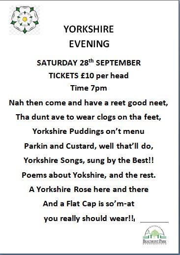 Yorkshire Evening